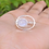 Thumbnail: 925 Silver Ring, Galaxy Planets Ring, Statement Ring