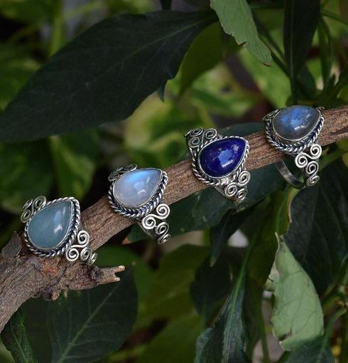 925 sterling silver mix gemstone ring.jp