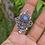 Thumbnail: Moonstone, Lapis, Labradorite 925 Sterling Silver Ring