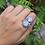 Thumbnail: 925 Sterling Silver Moonstone Ring