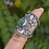 Thumbnail: 925 Sterling Silver Emerald Ring