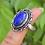 Thumbnail: 925 Sterling Silver Lapis Lazuli Ring