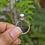 Thumbnail: Natural Larimar 925 Silver Ring