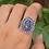 Thumbnail: 925 Sterling Silver Sodalite Ring