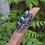 Thumbnail: 925 Sterling Silver Malachite Designer Ring