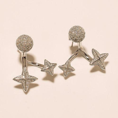 Sterling Silver Designer Earrings