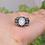 Thumbnail: Vintage Moonstone or Labradorite  Ring 925 Sterling Silver Ring