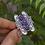 Thumbnail: 925 Silver Cocktail Ring, Handmade Bohemian Ring