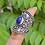 Thumbnail: 925 Sterling Silver Lapis Ring