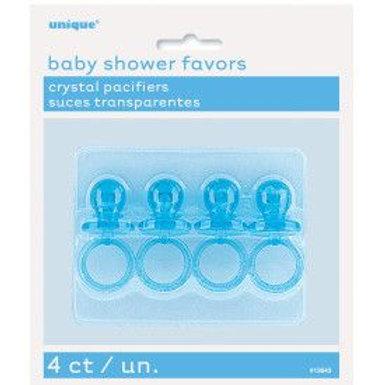 """Favor Pacifier Blue 2"""" 4C"""