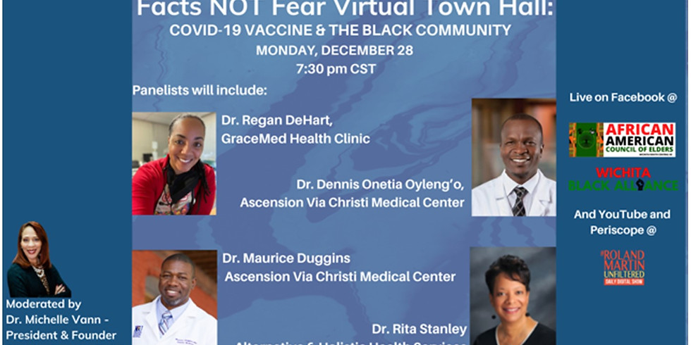 COVID-19 Vaccine & The Black Community: Virtual Town Hall