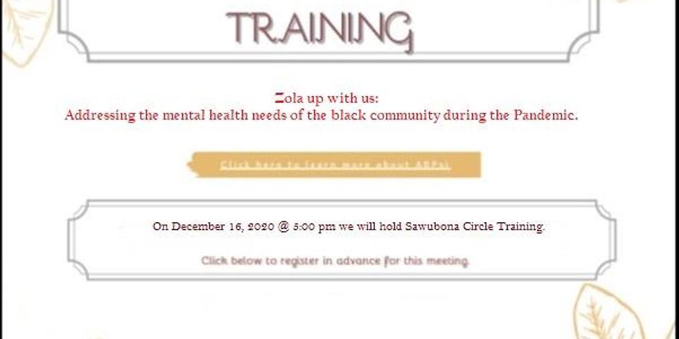 Sawubona Virtual Healing Circles Training