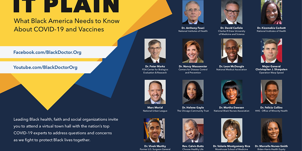 MAKING IT PLAIN - What Black America Needs to Know About COVID-19 and Vaccines