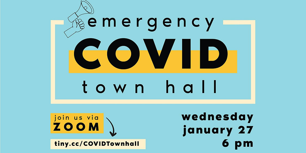 Emergency COVID Town Hall