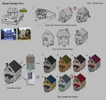 House Design & Concept art