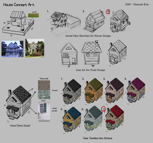 House Design & Concept art