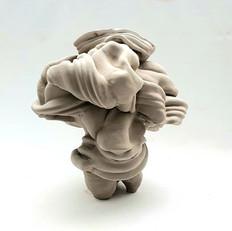 #oriel#Zinaburg#clay#pottery#sculpture#w