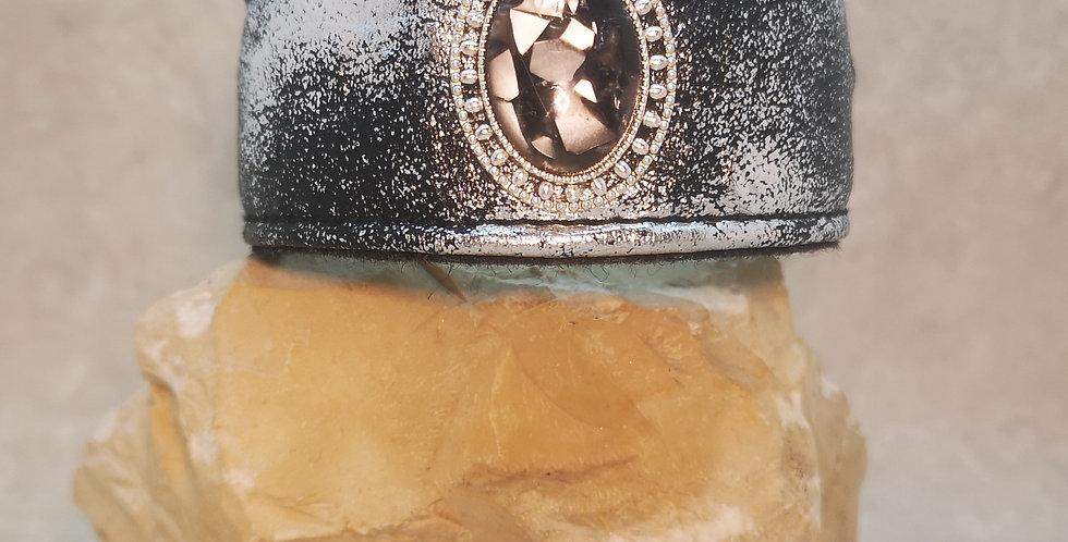 #80/ mittlerer HU max 24 cm - mit Metallklickverschluss - Wohlfühlhalsun