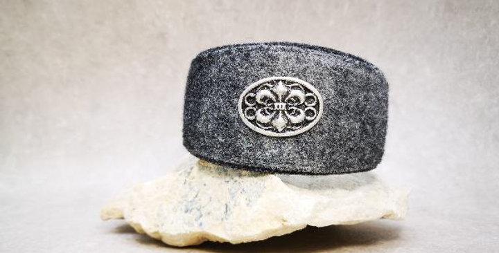 HU 30,5 cm -mit Kettenzugstopp - Wohlfühlhalsung Filz