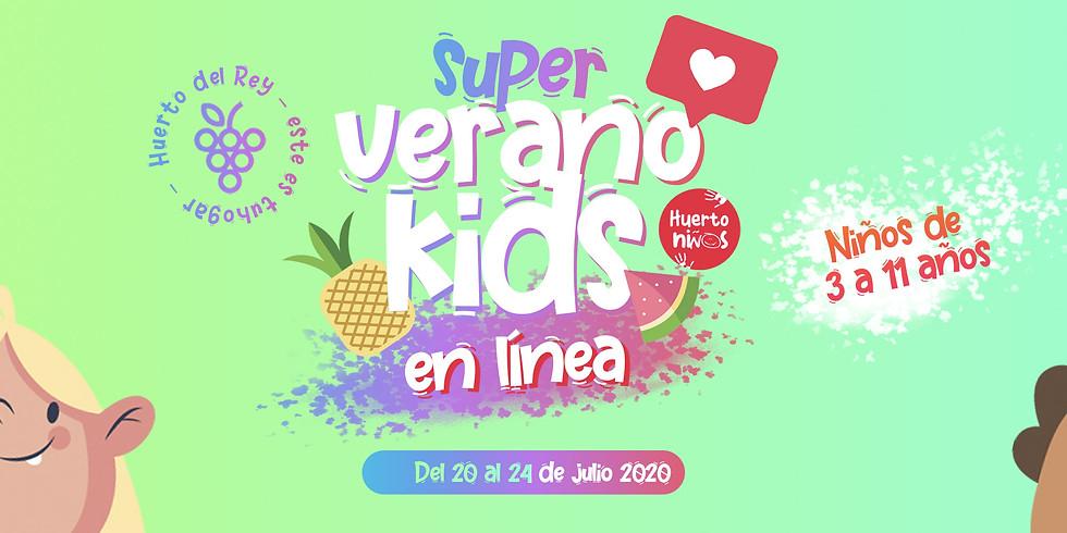 Super Verano Kids EN LÍNEA