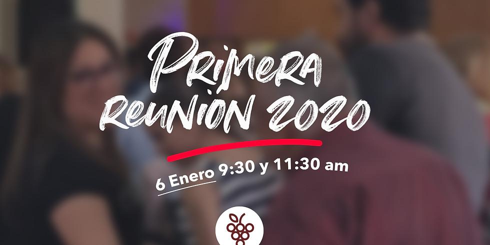 Primera reunión 2020