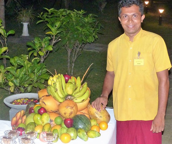 Ayurvedisches Früchtebuffet