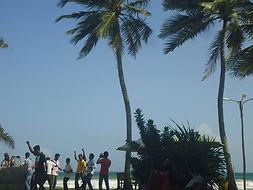 Fun am Strand mit dem Lawrence Paradise Team