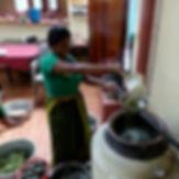 Kräuter für Ayurvedaölherstellung