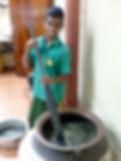 Ayurveda-Öl kochen