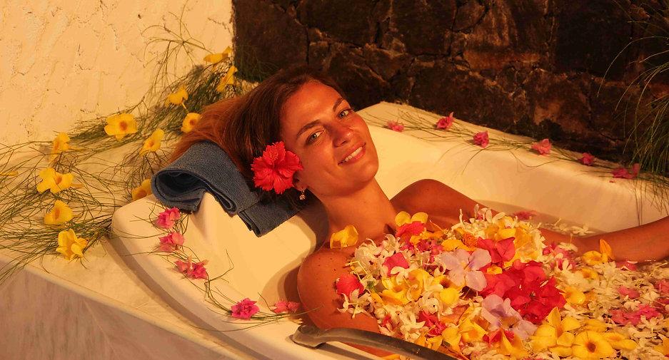 Königliches Ayurveda-Blütenbad