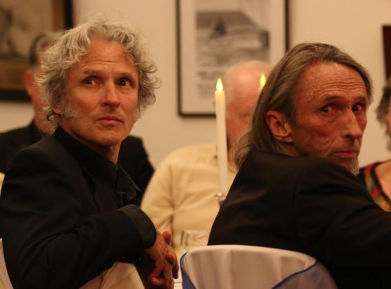 Peter O'Doherty and Reg Mombassa