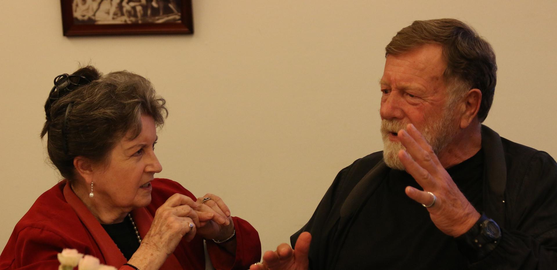 Lorraine Bayly and Jack Thompson