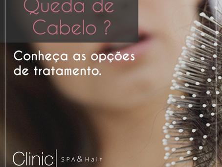 Queda de cabelo, Conheça as causas e tratamentos