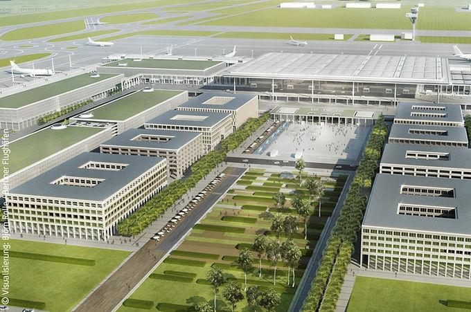 Airport City am Flughafen BER