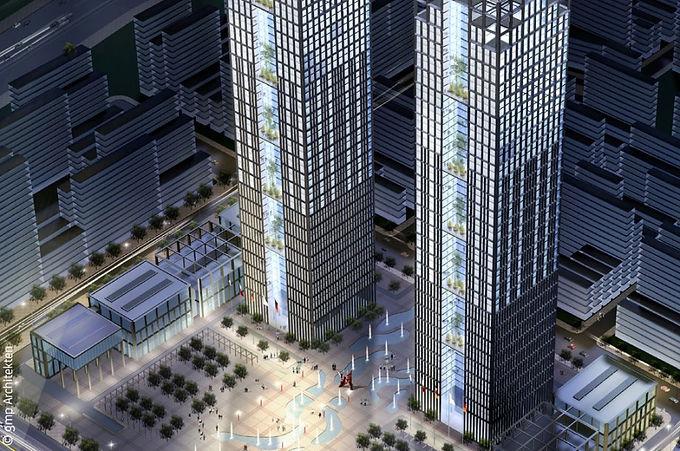 Dalian Twin Towers