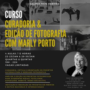 Curadoria e edição de fotografia com Marly Porto