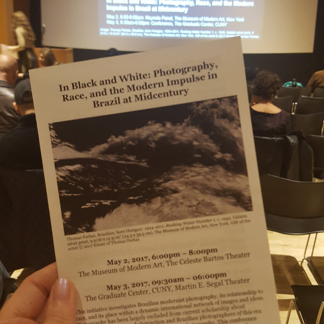 Conferência organizada pelo MoMA (NY): In Black and White: Photography, Race, and the Modern Impulse in Brazil at Midcentury