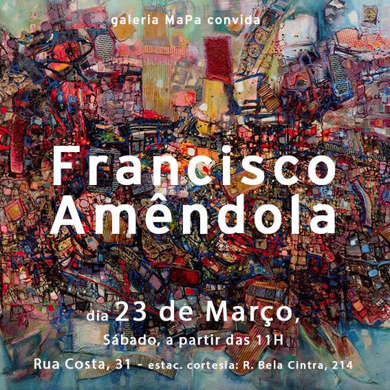 Texto crítico para a exposição do artista Francisco Amêndola