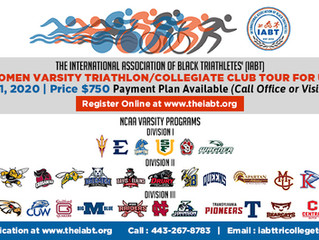 Inaugural Triathlon Collegiate Tour for Urban Youth
