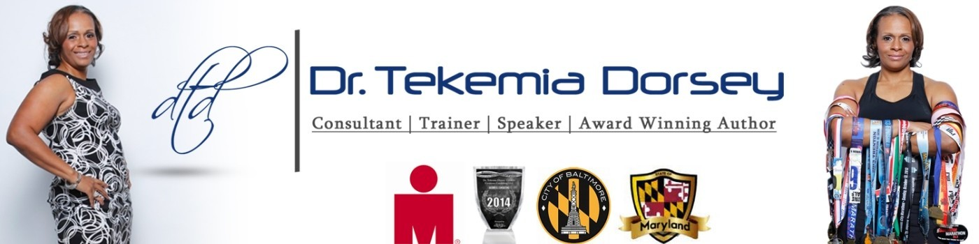 Dr. Tekemia Dorsey Speaker Author Athlete Banner