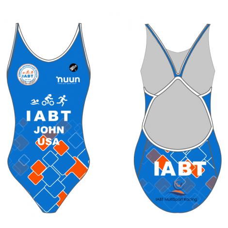 Women's FLIGHT Performance Swimsuit - IABT - NEW COLOUR