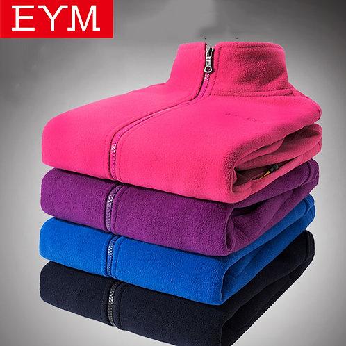 Autumn Winter Women Fleece Sweatshirts Long Sleeve