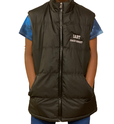 Bubble Vest - Embroidered