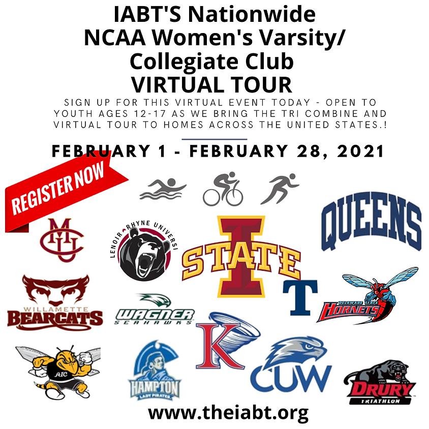 Nationwide NCAA Women's Varsity/Collegiate Club VIRTUAL TOUR