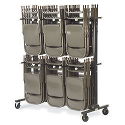 2-Tier Chair Cart - [HCT6072 For Virco Chairs]