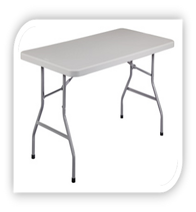 Folding Table - Rectangle [3 Sizes]