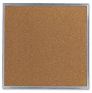 Cork Board  [Aluminum Frame]
