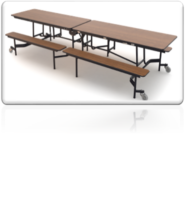 Cafeteria Bench Table [MUB0827]