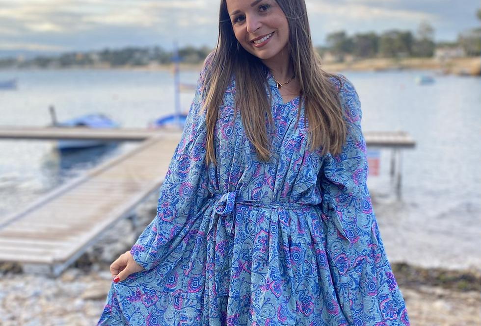 Robe Serena Bleu