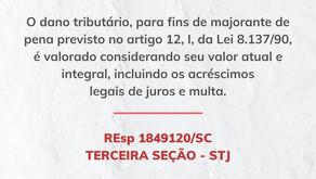 STJ: Define novas diretrizes para aplicação da majorante prevista no art. 12, I, da Lei 8.137/90.